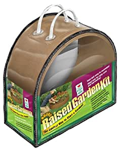 Easy Gardener 8161 48-Inch x 6-Inch Round Raised Garden Kit