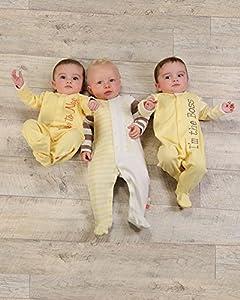 The Essential One - Pijama para bebé - Paquete de 3 - ESS118