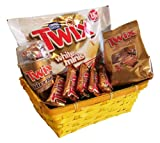 Gift Set Easter Basket with Twix variations (8 parts)