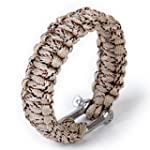 Paracord 550 Survival Bracelet with S...