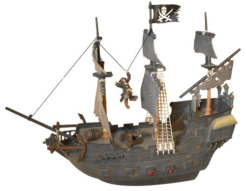 Pirates of the Carribean 3: R/C Rockin' Black Pearl with Figure