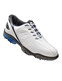 Mens FootJoy Sport Golf Shoes White/Blue