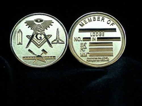 Commemorative Blue Lodge Freemason Masonic Silver Coin - The Masonic Exchange