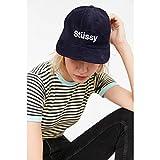 (ステューシー) Stussy レディース 帽子 ハット Stussy Helvetica Baseball Hat 並行輸入品