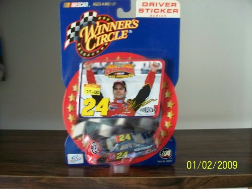 Jeff Gordon #24 Dupont Pepsi Monte Carlo 2001 1/64 Scale & Bonus 2001 Champion Driver Celebration Sticker Edition Winners Circle