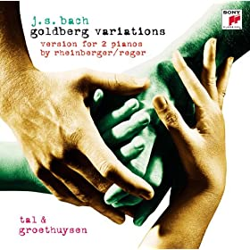Goldberg Variations - Version For 2 Pianos By Rheinberger/Reger: 19. Allegretto