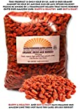 100% Organic Dried Goji Berries (Raw) 450g Bag (15.9oz)