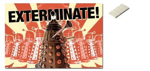 Exterminate Dalek German Dalek Exterminate Poster