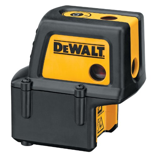 DEWALT DW084K Self Leveling Level, Plumb, & Square, 4 Beam Laser