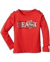 Salt & Pepper Sweatshirt  Col ras du cou Manches longues Fille