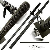 BladesUSA R-001 Ninja Sword (41-Inch Overall) (Color: black, Tamaño: 41-Inch Overall)