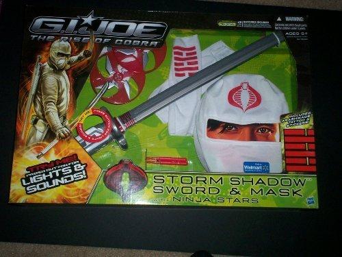 G.i. Joe Storm Shadow Sword and Mask with Ninja Stars (Gi Joe White Ninja compare prices)