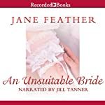 An Unsuitable Bride: Blackwater Brides, Book 3 (       UNABRIDGED) by Jane Feather Narrated by Jill Tanner