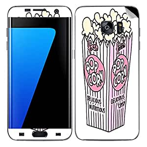 Theskinmantra Popcorn Delicious SKIN/STICKER/DECAL for Samsung Galaxy S7 Edge