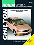img - for Chilton Total Car Care Honda Odyssey 2001-2010 Repair Manual (Chilton's Total Care) book / textbook / text book