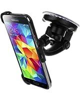 Bingsale KIT Support fixation pare-brise voiture Samsung Galaxy S5 - Support ventouse portrait / paysage 180 °