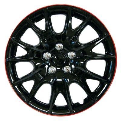 Herrero & Sons Wheel Cover Set of 4 Hub Caps Universal FIT MOST 13 INCH WHEELS