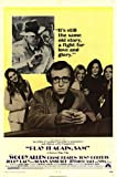 Play It Again, Sam (Woody Allen, 1972) - Mounted Movie Poster