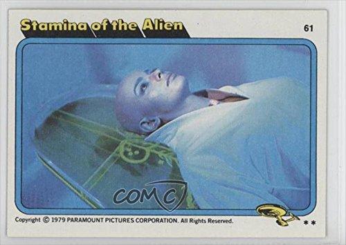 Stamina of the Alien  1979 Topps Star Trek: The Motion Picture #61
