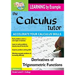Calculus Tutor: Derivatives Of Trigonometric Functions