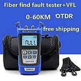 Mini SGOT04 Handheld OTDR 60KM Fiber find fault tester 1310or1550nm Fiber breakpoint fault detector with VFL FC/SC Connector