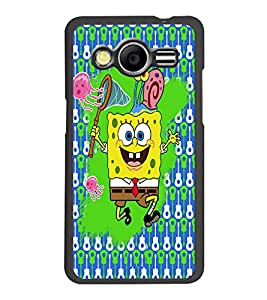 PrintDhaba Cartoon D-3506 Back Case Cover for SAMSUNG GALAXY CORE 2 G355H (Multi-Coloured)