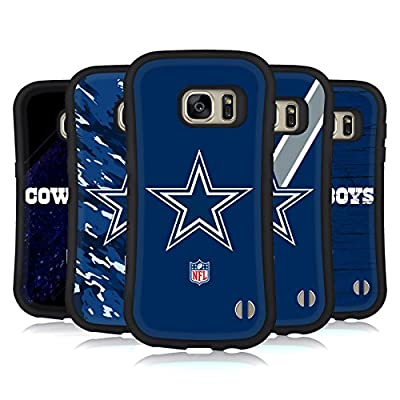 Official NFL Dallas Cowboys Logo Hybrid Case for Samsung Galaxy S7