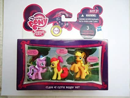 My Little Pony Friendship Magic Class of Cutie Marks Set by hasbro (English Manual)