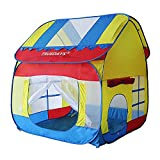Truedays niños al aire libre diversión de interior Play Big Tent Playhouse, 140 x120x120cm # 058