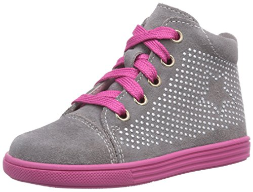 Richter Kinderschuhe Sing  0124-521, Sneaker per neonati bambina, Grigio (Grau (rock/iron  6101)), 22