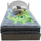 Candygirl Zippy Dino Sack Blanket Twin Size