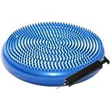 ResultSport® Advance Wobble Cushion 34cm - Pump Included - Blue