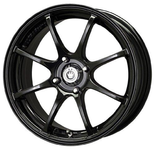 Konig Feather Gloss Black - 16 x 7 Inch Wheel