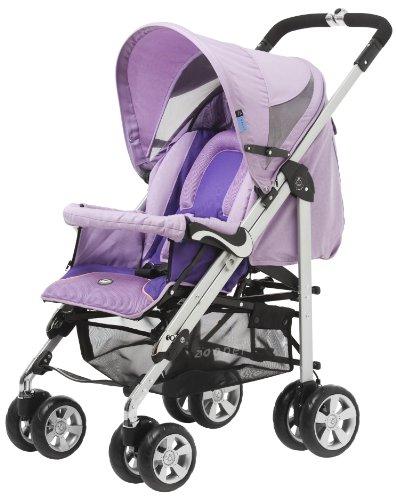 Zooper 2011 Bolero Stroller/Bassinet, Butterfly Purple front-268289