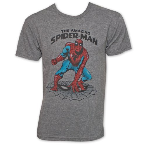 The Amazing Spider-Man Slim Fit Adult T-shirt