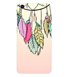 EPICCASE Hanging Leaves Mobile Back Case Cover For Vivo V3 Max (Designer Case)