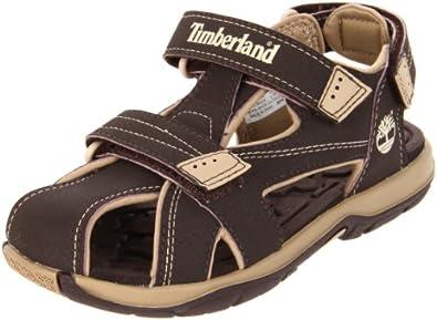 Timberland Mad River Closed Toe Brown/Tan Sports Sandal 43892 10.5 UK Junior