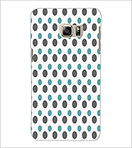PrintDhaba Dot Pattern D-5919 Back Case Cover for SAMSUNG GALAXY NOTE 5 EDGE (Multi-Coloured)