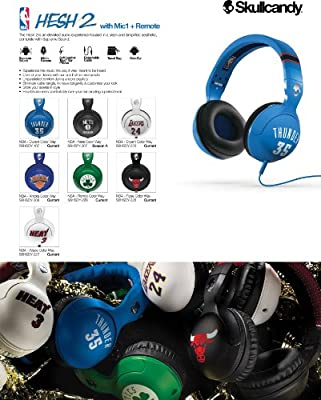 Skullcandy S6HSDY-228 Hesh 2 Chicago Bulls Derrick Rose Over-the-Ear Headphones