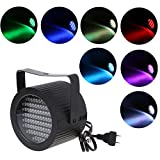 LIYUDL 86 LED Strobe Light DJ Lights,DMX-512 Lighting Projector Auto Sound Activated Stage Lighting for Parties Wedding KTV Pub Club Show AC90-240V 25W