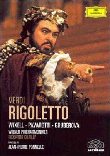 Rigoletto (Wixell, Gruberova,Pavarotti ) - Verdi - DVD