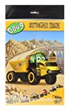 JCB My 1st Sticker Book Zone DOUG the Dump Truck Quarry Scene with 18 Stickers
