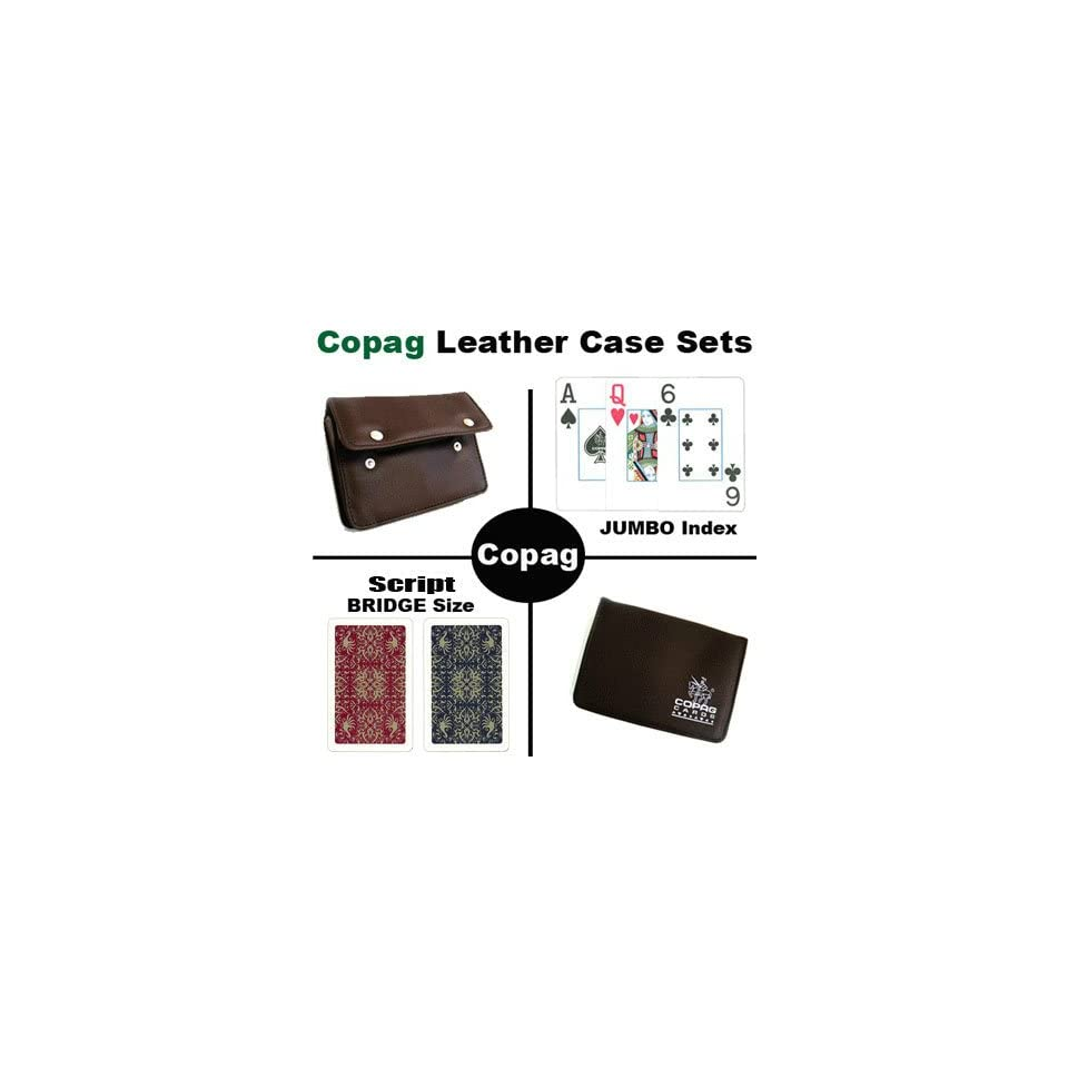 New High Quality Copag Branded Leather Case Script Bridge