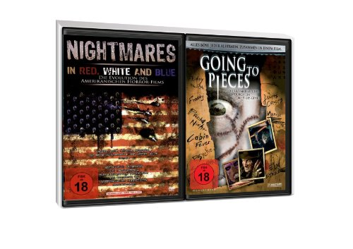 FSK 18 Spar-Set 2 DVDs Doku : Nightmares In Red, White And Blue + Going To Pieces