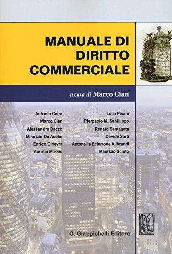 Manuale di diritto commerciale PDF