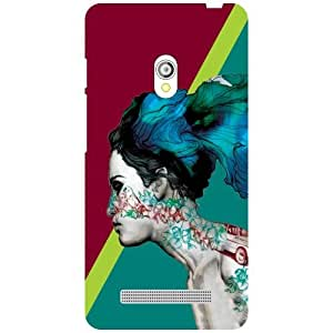 Asus Zenfone 5 A501CG Back Cover - Run Away Designer Cases