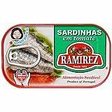 ラミレス オイルサーディン トマトソース漬け 125g