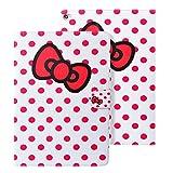 WeLoveCase Apple iPad Air 2 (iPad 6) 適応 高品質合皮材質 超軽量 全面的保護 マグネットベルト スタンド付き カード 紙幣収納可能 中はソフトケース キャラクター 可愛 おしゃれ 女性 人気