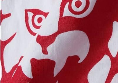 SOUL SPORTS×新日本プロレス ラグランTシャツ(半袖) ホワイト×レッド 1168-3220-1 [3L・4L・5L・6L]