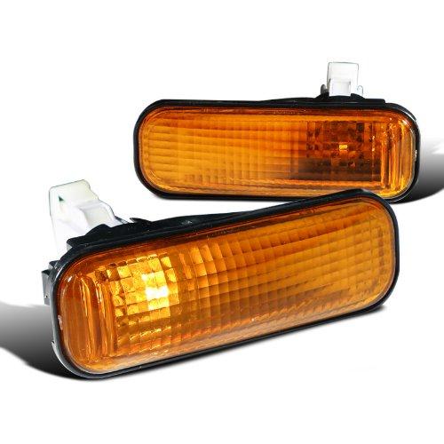 Spec-D Tuning LSM-CV96AMDT Honda Civic Ex Lx Dx Amber Dome Side Marker Lights (Bumper Honda Civic Ex 2000 compare prices)